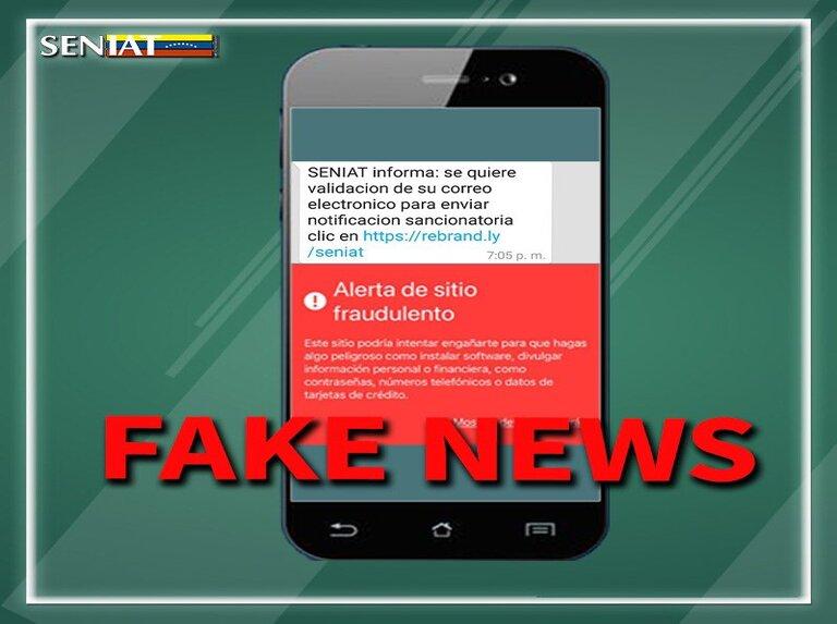 Seniat alerta que Ciberdelincuentes buscan confundir a contribuyentes