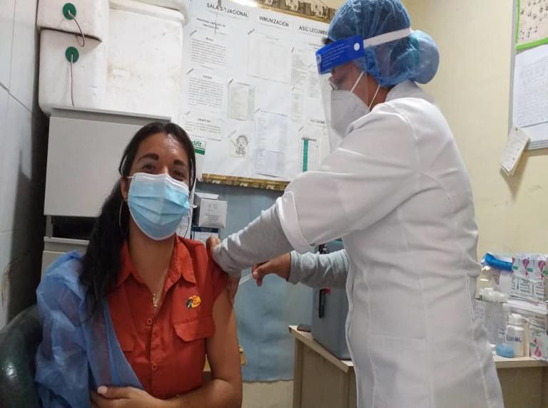 Iniciaron vacunación a personal del sector educativo del Táchira