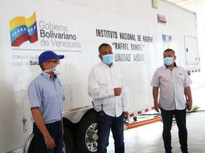 Bolívar activated his Molecular Mobile Laboratory to detect Covid-19