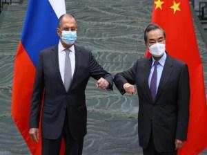 Cita de cancilleres de Rusia y China pone a temblar a occidente