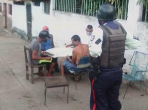 Municipales meten por los rieles a rumberos de Ocumare del Tuy