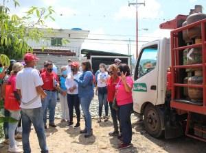 Pdvsa Gas Comunal realiza jornada de saturación en Trujillo