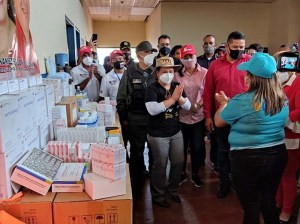 They provide supplies and medicines to sentinel centers in Delta Amacuro