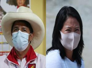 Pedro Castillo y Keiko Fujimori rivalizarán segunda vuelta en Perú