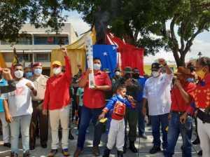 Tuyeros recibieron la antorcha libertaria Bolivariana de los Pueblos
