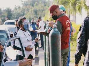 Inició plan piloto de recarga gratuitas de oxigeno en Anzoátegui