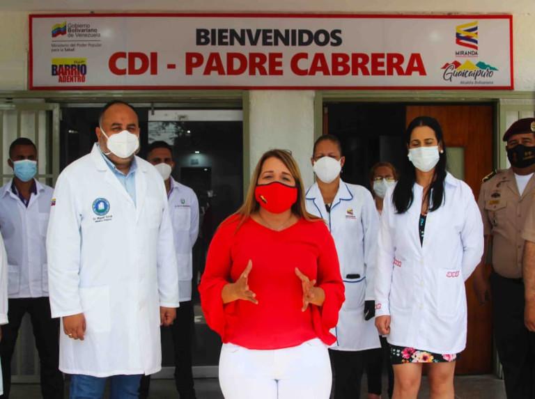 CDI Padre Cabrera de Los Teques rehabilitated for covid patients