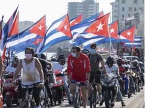 Jóvenes de Cuba protagonizan II Caravana Mundial contra Bloqueo