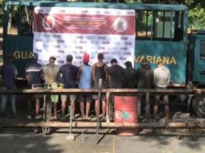 10 detenidos por contrabandear hierro en vehículos de la UDO