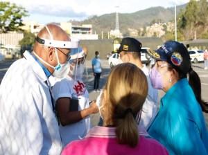 Supervisan Poliedro de Caracas para reforzar atención contra el covid-19