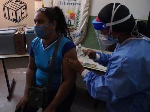 Docentes de Plaza-Zamora recibieron segunda dosis de la vacuna china