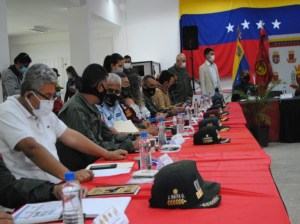 The Management and Integral Defense Bodies are sworn in in Táchira