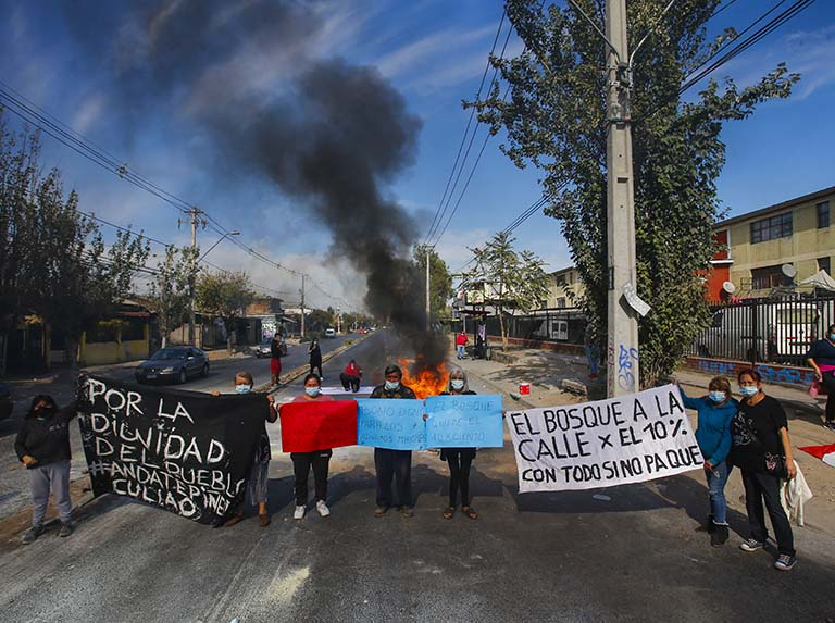 Senado de Chile da luz verde a tercer retiro de pensiones