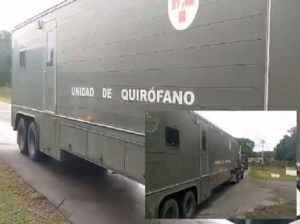 Mobile Field Surgical Hospital installed in Apure state