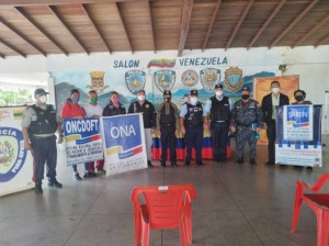 Bolívar installs the People's Congress Citizen Security chapter