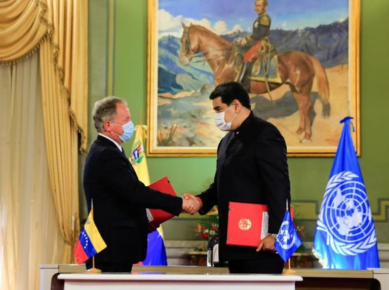 Venezuela firma acuerdo con ONU para Programas de Asistencia Alimentaria
