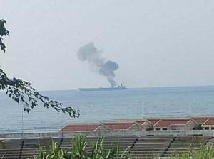Atacan con dron un petrolero frente a costas de Siria