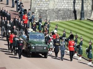 Inglaterra despide con honores al príncipe Felipe