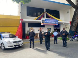 Maracay-Centro Police Coordination Center inaugurated