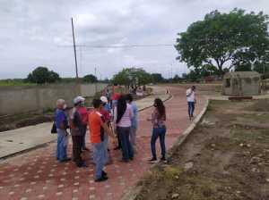 Inspeccionan construcción del monumento Bicentenario en Barinas