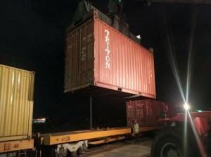Desde Lara despacharon carga de frijol mungo a Emiratos Árabes Unidos