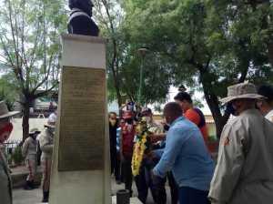 Luciteños celebrated the birthday of the hero Francisco Espejo