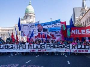 Organizaciones sociales exigen liberación de Milagro Sala