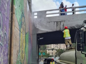 Inician recuperación viaducto sobre Caracas-La Guaira por Bicentenario