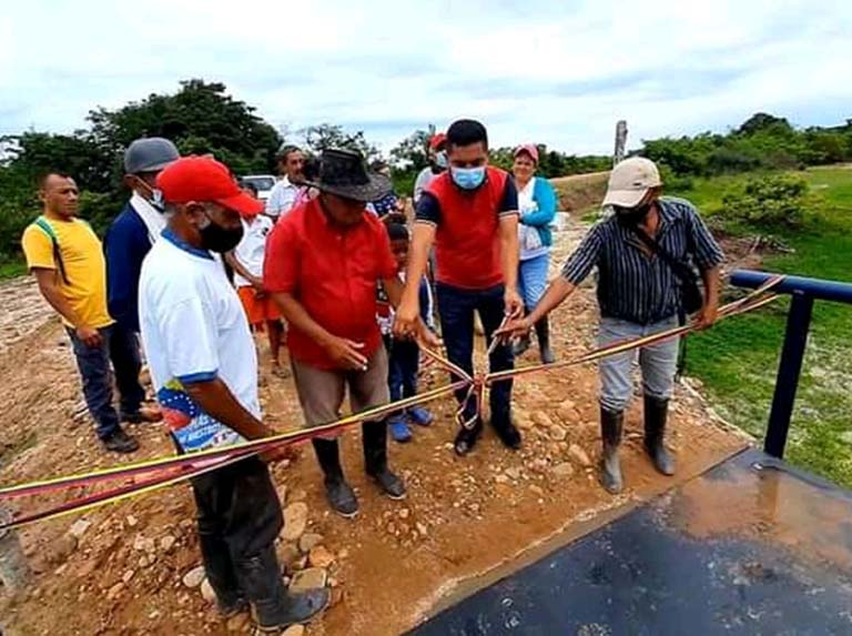 Bridge inaugurated in the Páez municipality of Apure state