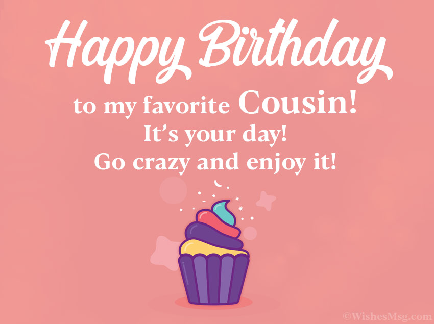 Birthday Wishes For Cousin Happy Birthday Cousin Ultima Status
