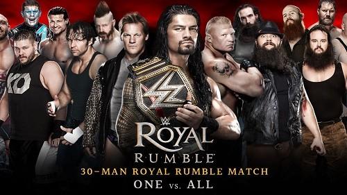 WWE Royal Rumble 2016 + Raw avant et après en VF