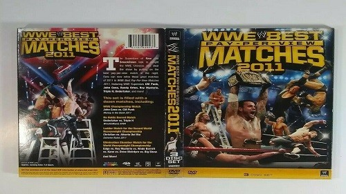 WWE Best of PPV Matches 2011 – Coffret 3 DVD en VF – Ajour MEGA