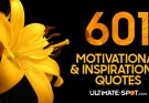 601 Motivational and Inspirational Quotes