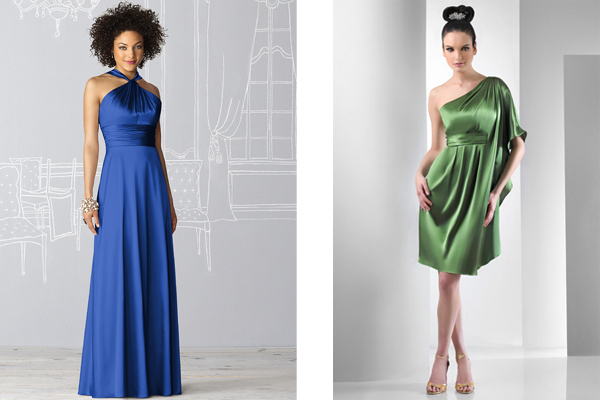 A Guide To Bridesmaid Dress Fabrics And Finishes