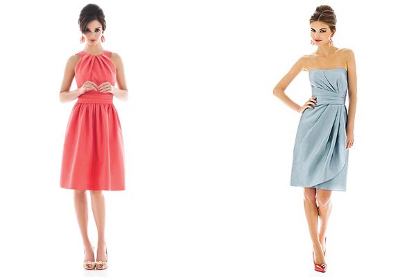peau de soie alfred sung bridesmaid dresses