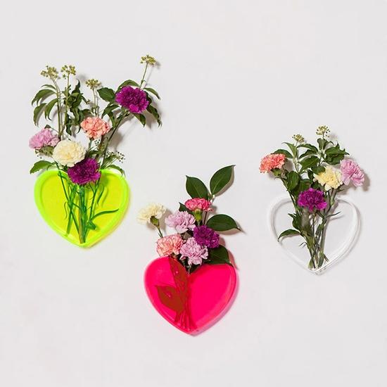 008 neon flower vases
