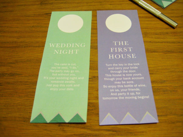 graphic about Printable Wine Tags for Bridal Shower Gift titled Wine Basket Bridal Shower Reward + Printable Poem Reward Tags