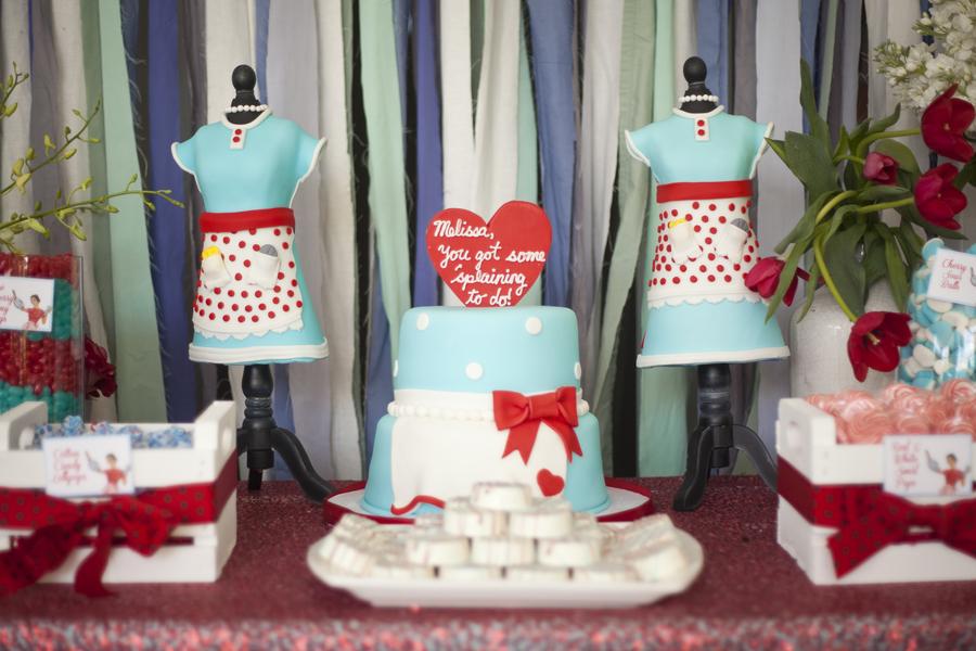 Wedding Food Ideas Get Creative I Do Knot: A Kitschy-Cute 50s Housewife Bridal Shower