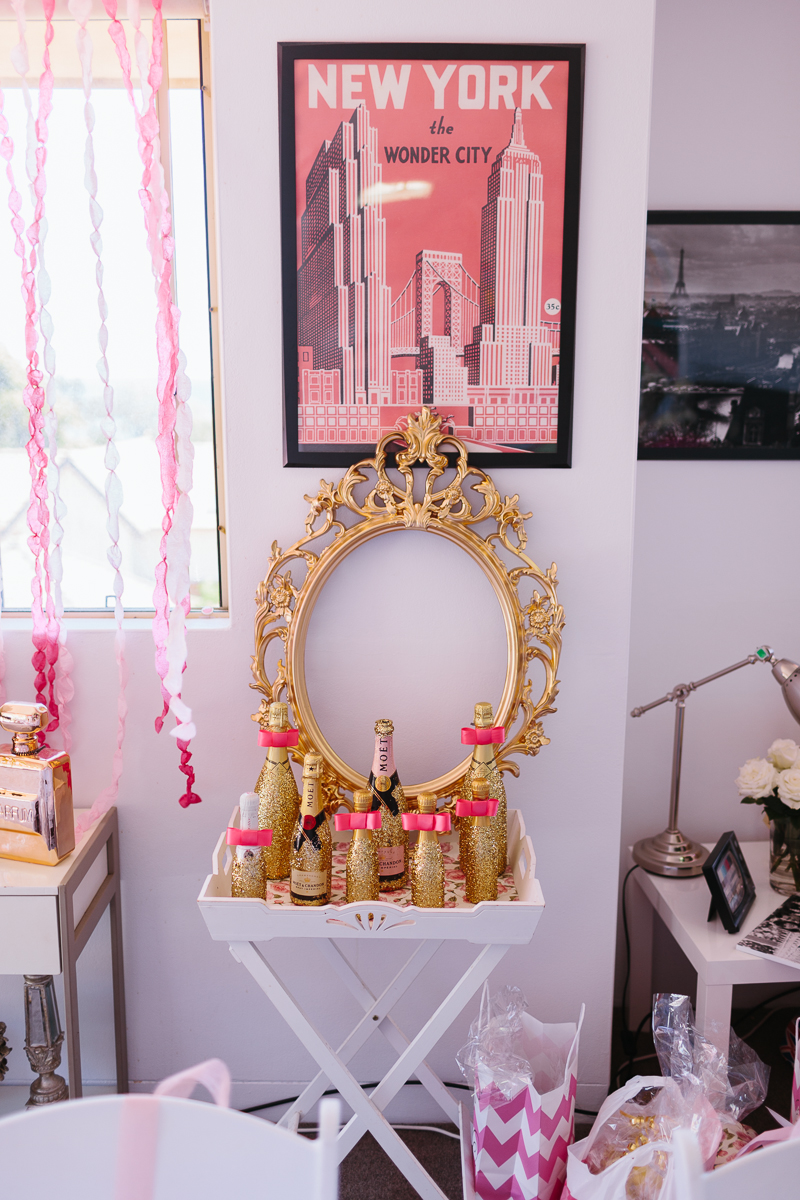 A Glittering Pink High Tea Shower in Sydney Australia Ultimate