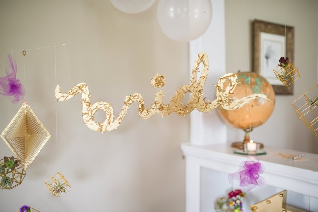 A Modern Geometric Gold Bridal Shower | Ultimate Bridesmaid | Taylor Cotilla Photography