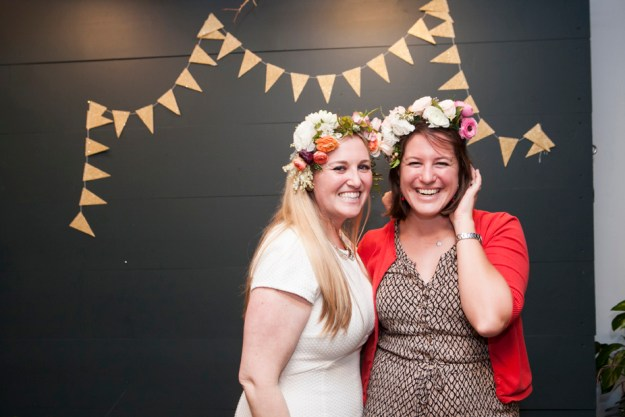 A Floral Crown Crafting Bridal Shower | Ultimate Bridesmaid | Natalie N Photography