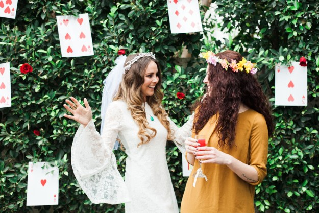 A 70s-Style Wonderland Bridal Shower | Ultimate Bridesmaid | Paul Yerrick Photography