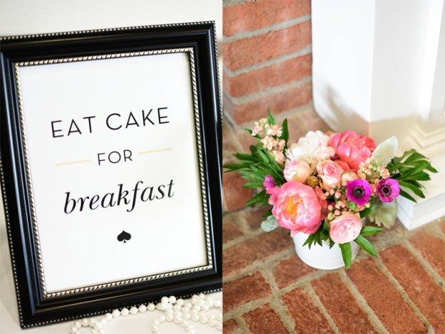 A Cheerful Kate Spade Bridal Shower | Ultimate Bridesmaid | Susie Marie Photography