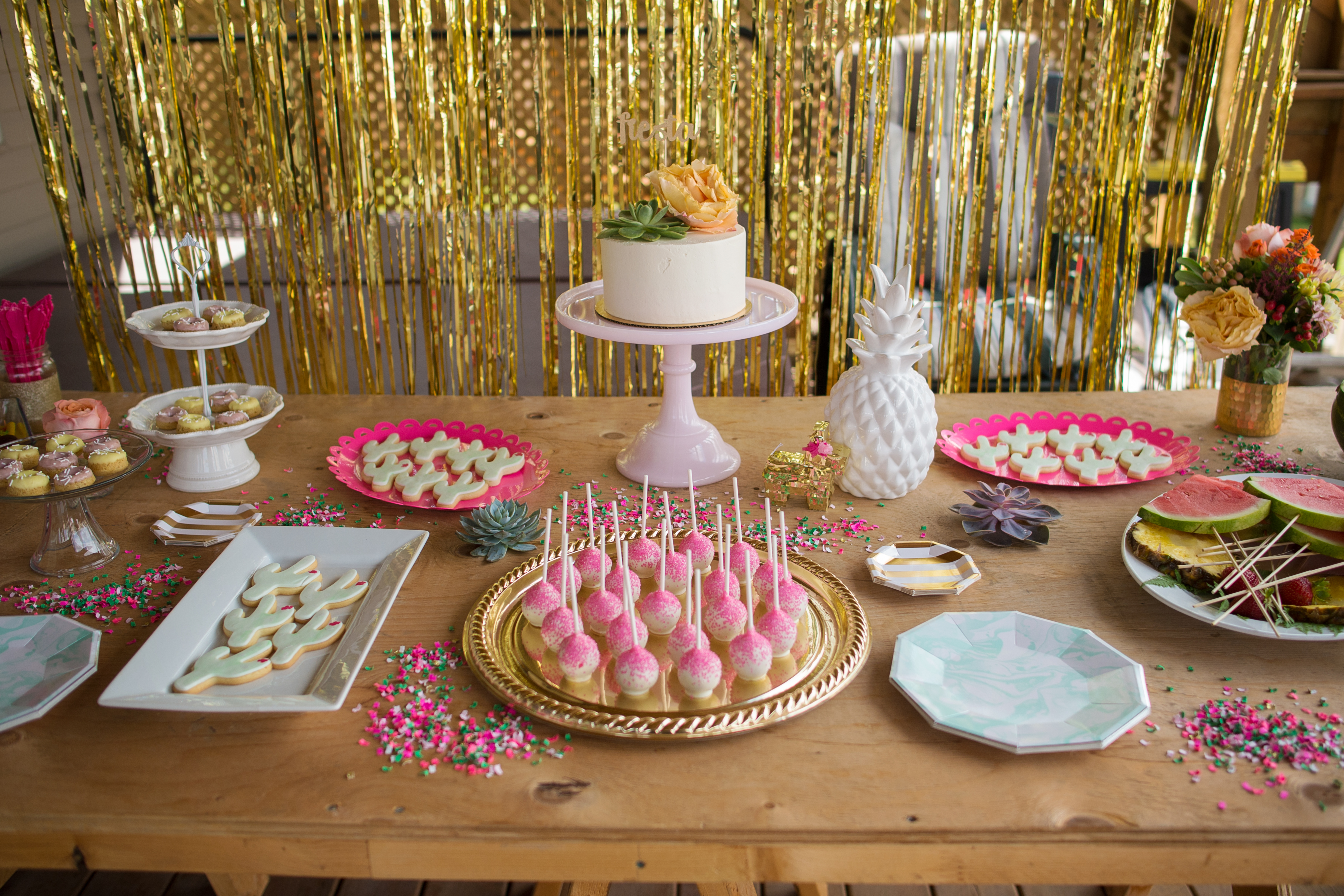 A Pink And Gold Fiesta Bridal Shower Ultimate Bridesmaid
