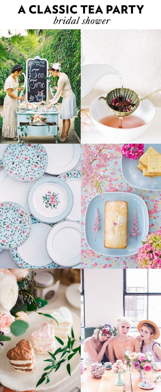 A Classic Tea Party Bridal Shower