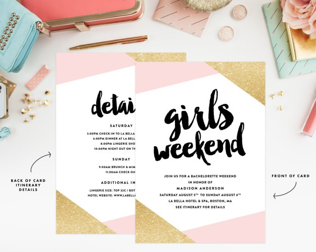 Our Favorite Etsy Bachelorette Invitations