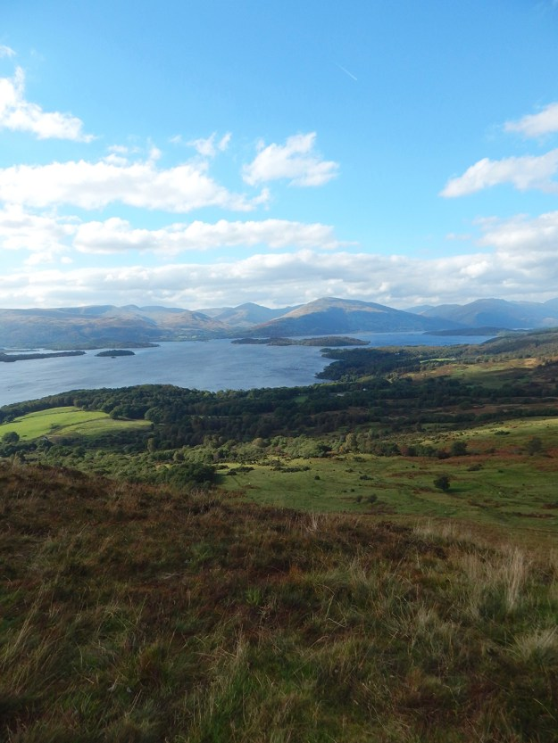 Conic Hill hike near Balmaha. Our Honeymoon in Scotland | Ultimate Bridesmaid