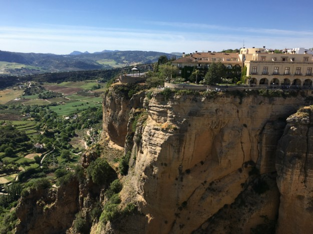 The view of Ronda from our room in the Hotel Montelirio. We visited Ronda for two days as part of our 10-day honeymoon in Spain. Click to see our Ronda travel guide, including where to stay, what to do and where to eat!