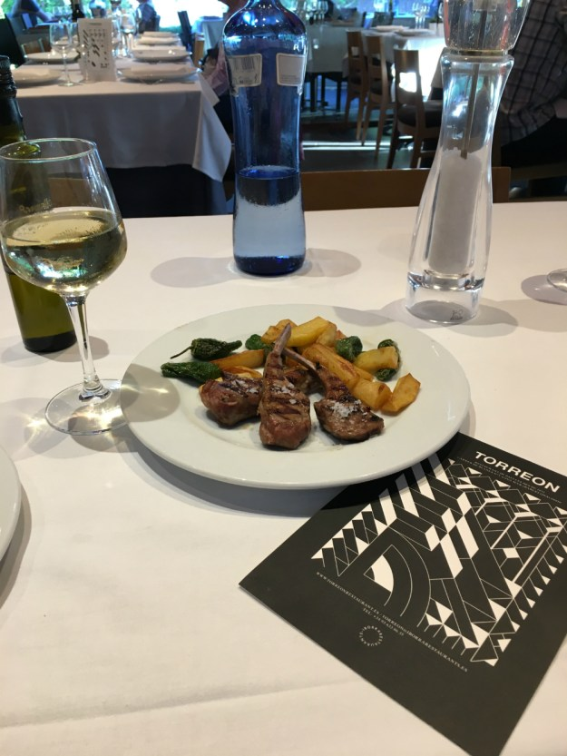 Torreon restaurant in Gava, Spain. We were looking for a good hotel near the Barcelona airport and our stop in Gava more than delivered! Click to view this and our full 10-day honeymoon in Spain.