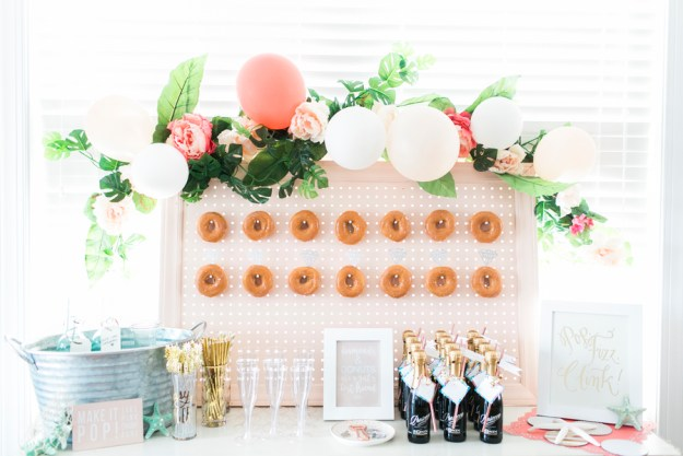A Donut Wall Bachelorette by the Sea | Ultimate Bridesmaid | Sidney Leigh Photography